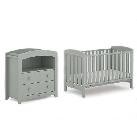 Boori Alice 2 Piece Nursery Set - Pebble