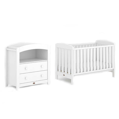 Boori Alice 2 Piece Nursery Set - White