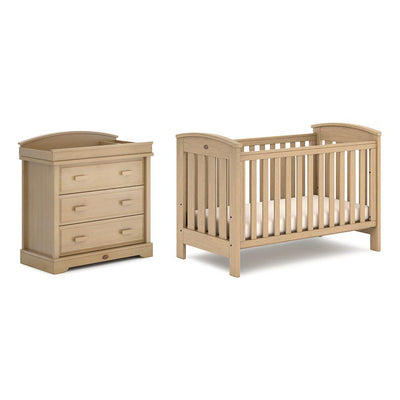 Boori Classic 2 Piece Nursery Set - Almond-Nursery Sets- Natural Baby Shower