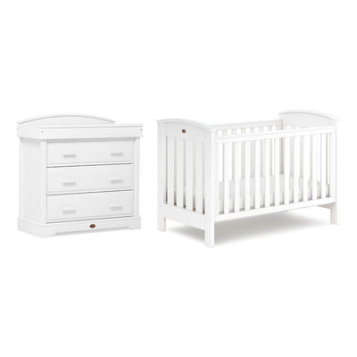 Boori Classic 2 Piece Nursery Set - Barley White-Nursery Sets- Natural Baby Shower