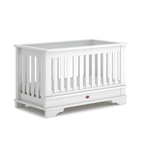 Boori Eton Convertible Plus Cot Bed - Barley White-Cot Beds-Without Conversion- Natural Baby Shower