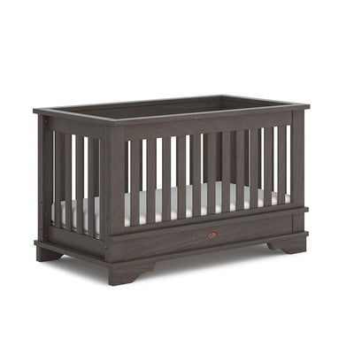 Boori Eton Convertible Plus Cot Bed - Mocha-Cot Beds-Without Conversion- Natural Baby Shower