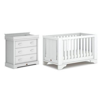 Boori Eton Expandable 2 Piece Nursery Set - Barley White-Nursery Sets-Without Expansion- Natural Baby Shower