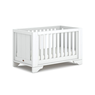 Boori Eton Expandable Cot Bed - Barley White-Cot Beds- Natural Baby Shower
