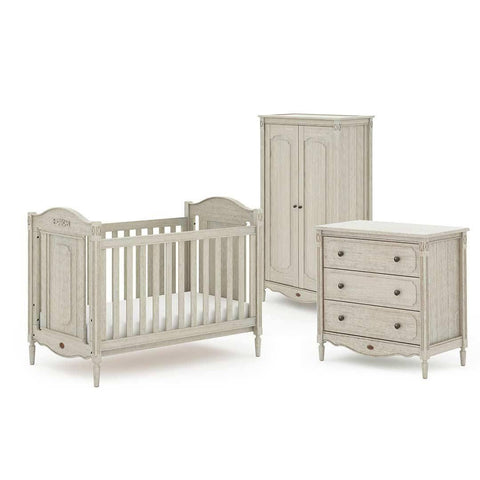 Boori Grace 3 Piece Nursery Set in  Antique Grey