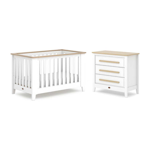 Boori Pioneer Expandable 2 Piece Nursery Set - Barley/Almond-Nursery Sets- Natural Baby Shower