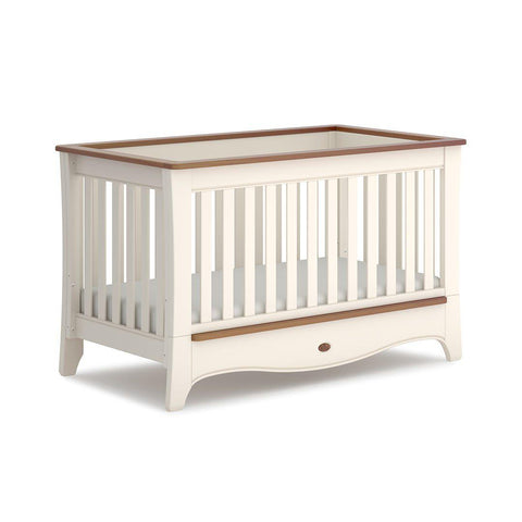 Boori Provence Convertible Plus Cot Bed - Cream & Pecan-Cot Beds-Without Conversion- Natural Baby Shower
