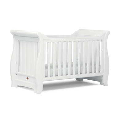 Boori Sleigh Cot Bed - Barley White-Cot Beds- Natural Baby Shower