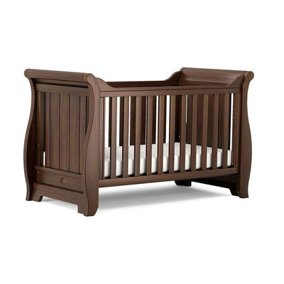 Boori Sleigh Cot Bed - Coffee-Cot Beds- Natural Baby Shower