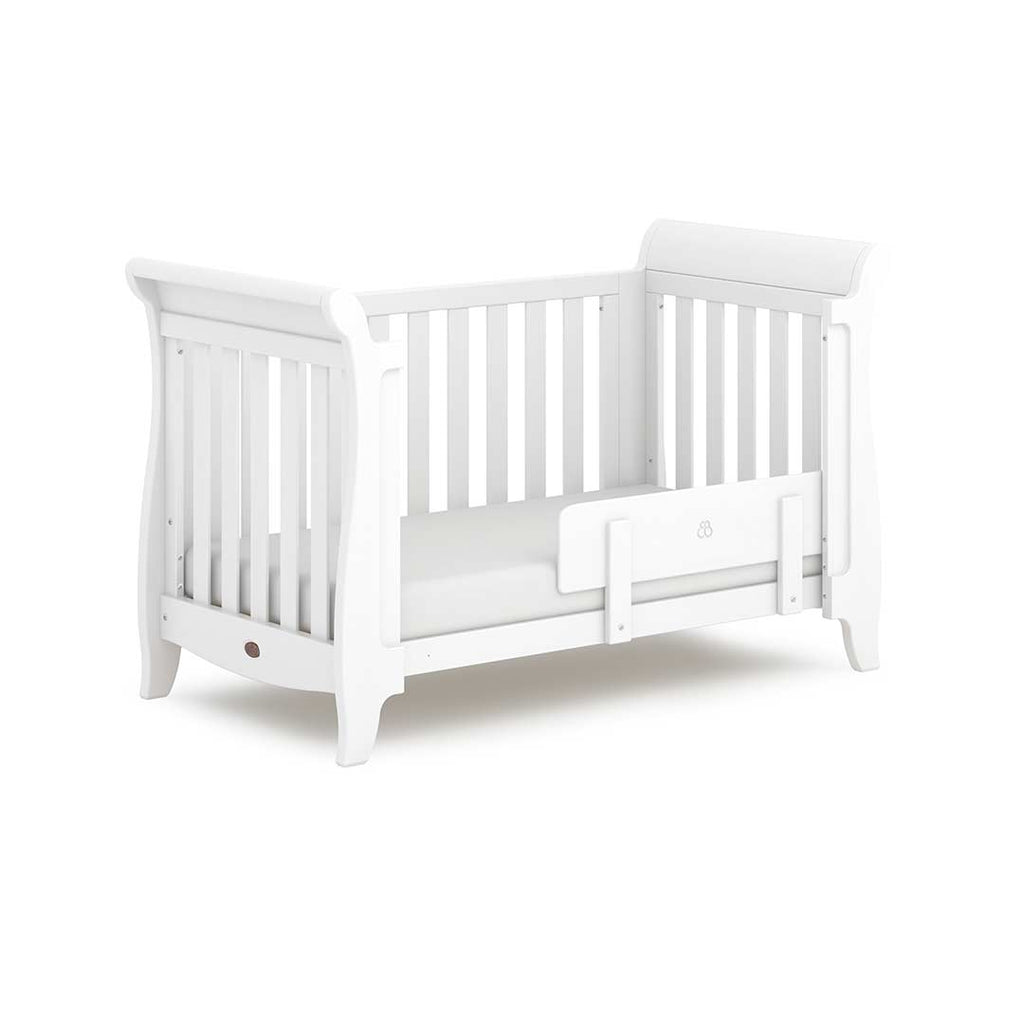 Boori Sleigh Expandable 2 Piece Nursery Set - Barley-Nursery Sets- Natural Baby Shower