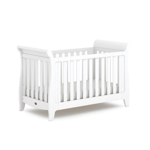 Boori Sleigh Expandable Cot Bed - Barley White-Cot Beds- Natural Baby Shower