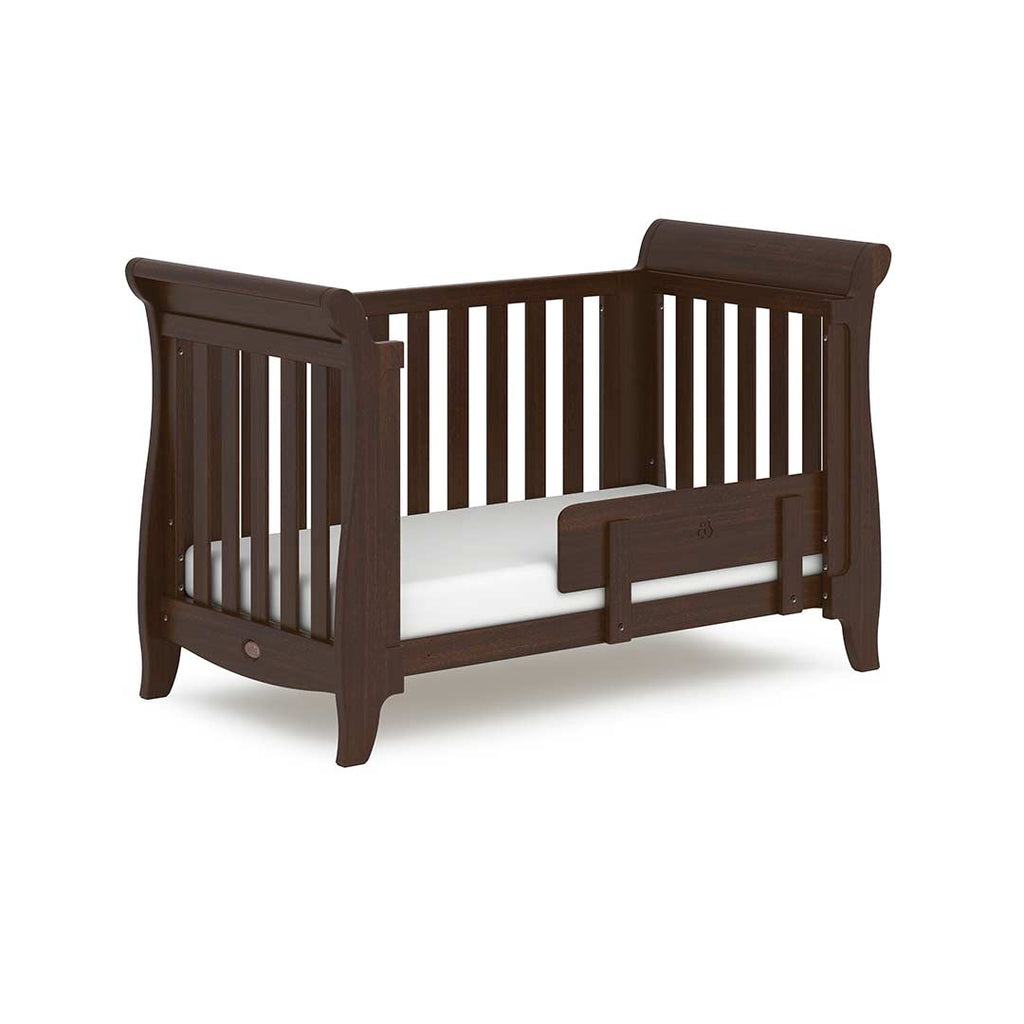 Boori Sleigh Expandable Cot Bed - Coffee 2