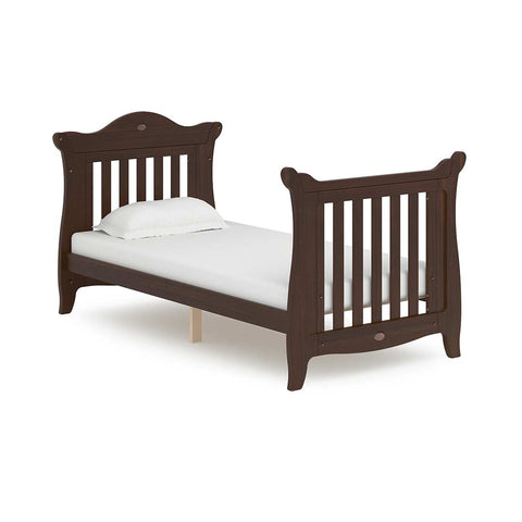 Boori Sleigh Expandable Cot Bed - Coffee-Cot Beds- Natural Baby Shower