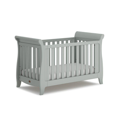 Boori Sleigh Expandable Cot Bed - Pebble-Cot Beds- Natural Baby Shower