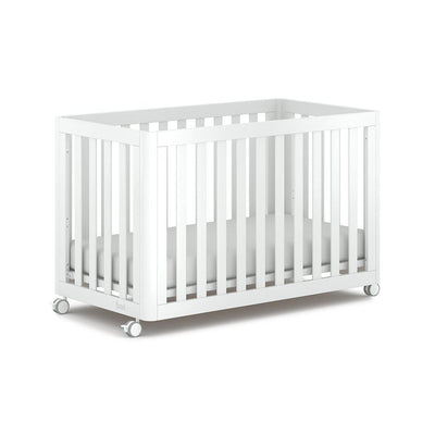 Boori Turin Cot - Barley White-Cot Beds- Natural Baby Shower