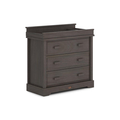 Boori Universal 3 Drawer Dresser with Squared Changing Station - Mocha-Dressers & Chests- Natural Baby Shower