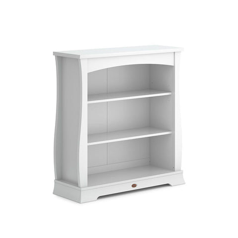 Boori Universal Sleigh Bookcase Hutch - Barley White-Bookcases- Natural Baby Shower