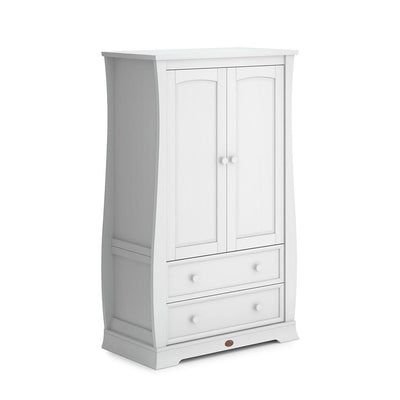 Boori Universal Sleigh Wardrobe - Barley White - Ex-Display-Wardrobes- Natural Baby Shower