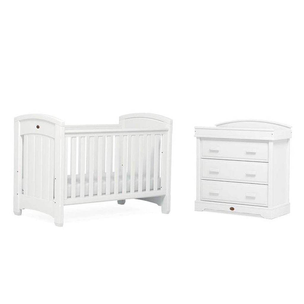 Boori Classic Royale 2 Piece Nursery Set in White