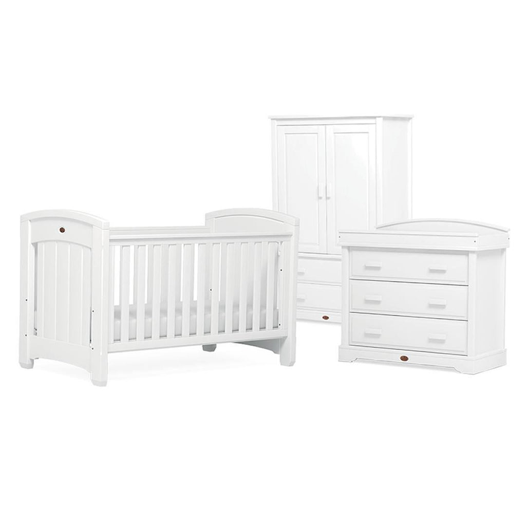 Boori Classic Royale 3 Piece Nursery Set in White