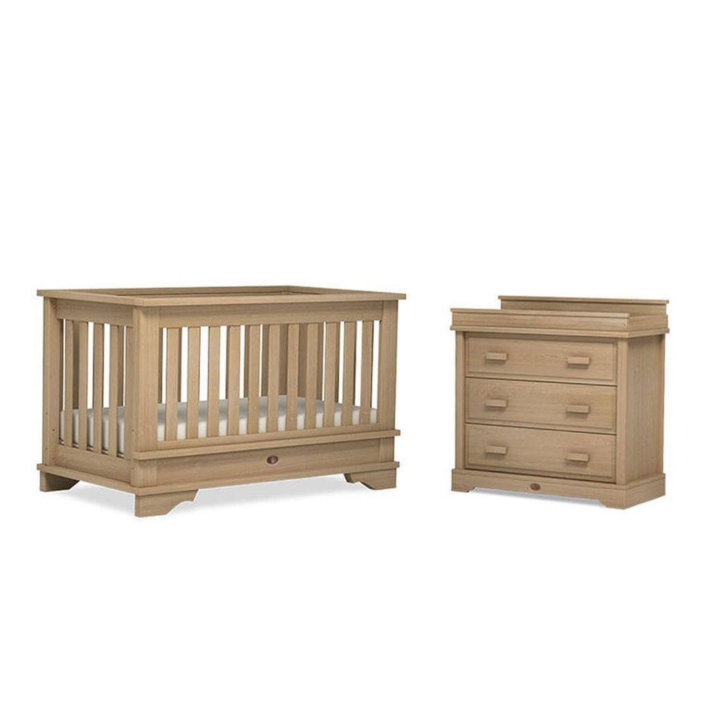 Boori Eton Convertible 2 Piece Nursery Set in Natural
