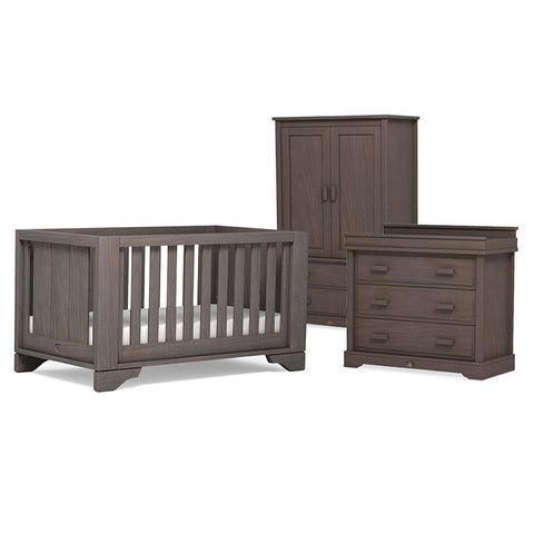Boori Eton Expandable 3 Piece Nursery Set in Mocha