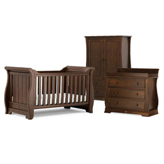 Boori Sleigh 3 Piece Nursery Set in English Oak