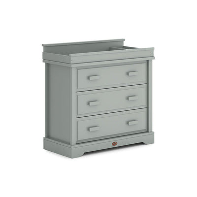 Boori Universal 3 Drawer Dresser with Squared Changing Station - Pebble-Dressers & Chests- Natural Baby Shower