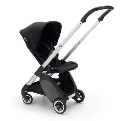 Bugaboo Ant Stroller - Aluminium + Black-Strollers- Natural Baby Shower