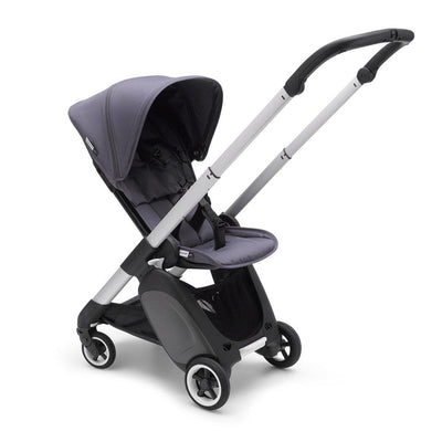Bugaboo Ant Stroller - Aluminium + Steel Blue-Strollers- Natural Baby Shower