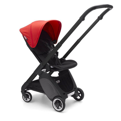 Bugaboo Ant Stroller - Black + Neon Red-Strollers- Natural Baby Shower
