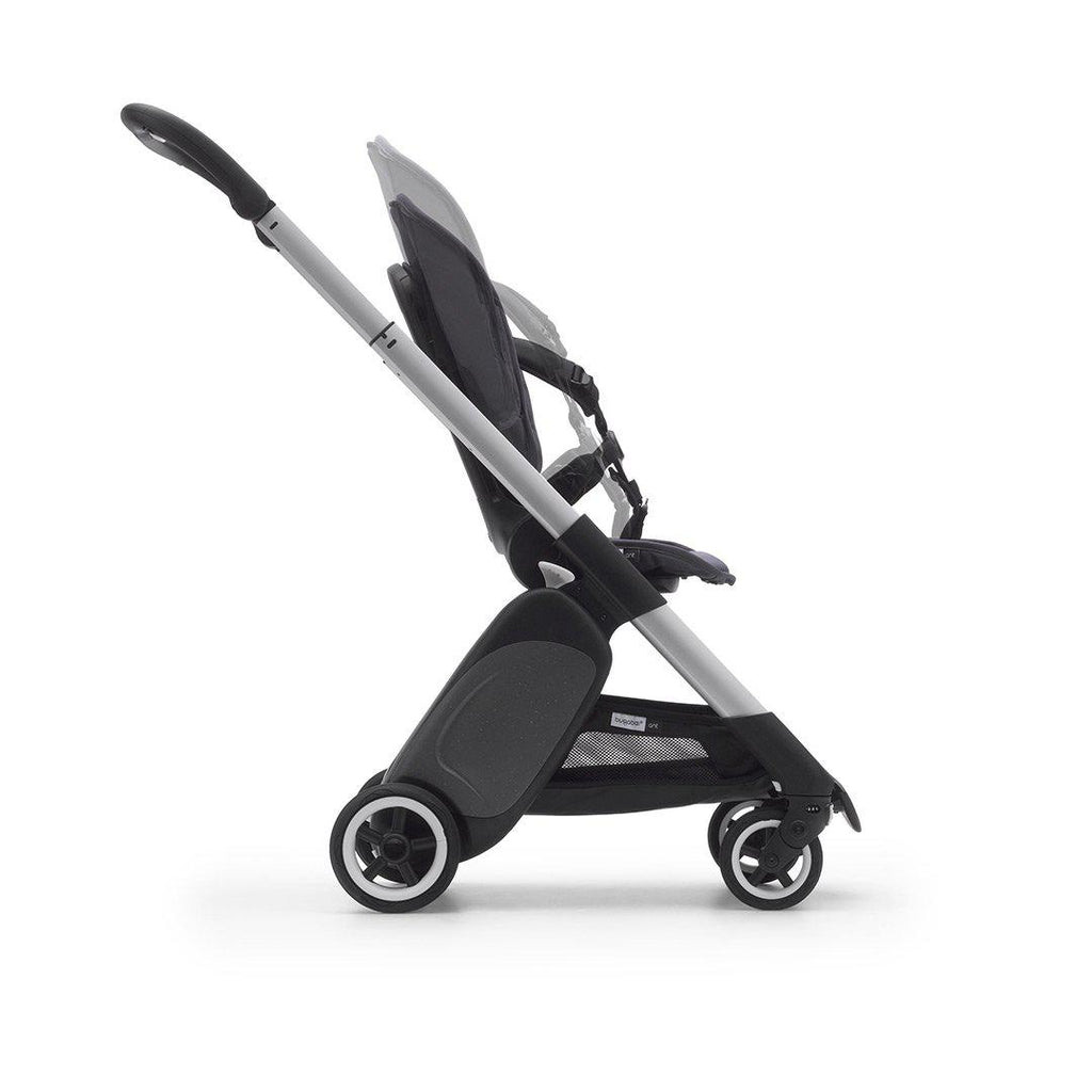 Bugaboo Ant Stroller - Black + Grey Melange-Strollers- Natural Baby Shower