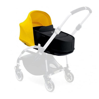 Bugaboo Bee3 Carrycot - Black + Sunrise Yellow-Carrycots- Natural Baby Shower