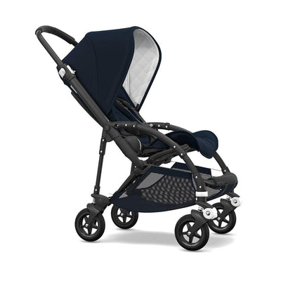 Bugaboo Bee5 Classic Complete Pushchair - Navy-Strollers- Natural Baby Shower