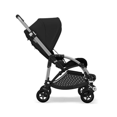 Bugaboo Bee5 Complete Pushchair - Black + Aluminium-Strollers- Natural Baby Shower