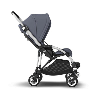 Bugaboo Bee5 Complete Pushchair - Steel Blue + Aluminium-Strollers- Natural Baby Shower