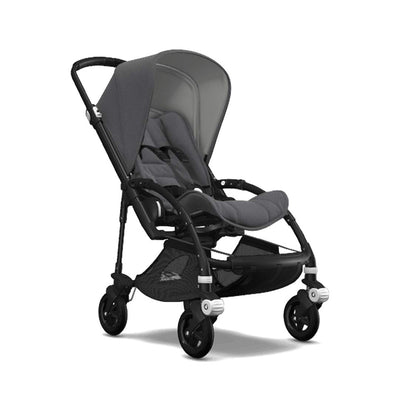Bugaboo Bee5 Pushchair - Grey Melange-Strollers-Black-Grey Melange- Natural Baby Shower