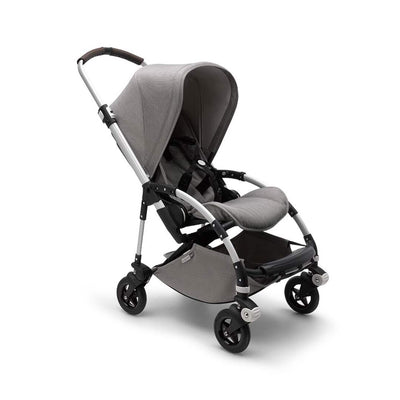 Bugaboo Bee5 Pushchair - Mineral Light Grey + Aluminium-Strollers- Natural Baby Shower