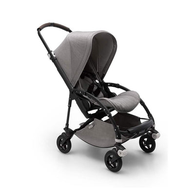 Bugaboo Bee5 Pushchair - Mineral Light Grey + Black-Strollers- Natural Baby Shower