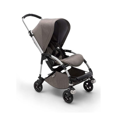 Bugaboo Bee5 Pushchair - Mineral Taupe + Aluminium-Strollers- Natural Baby Shower