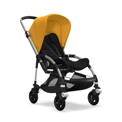 Bugaboo Bee5 Pushchair - Sunrise Yellow-Strollers-Aluminium-None-Black- Natural Baby Shower