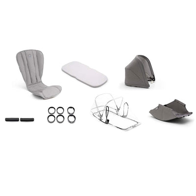 Bugaboo Bee5 Style Set - Mineral Light Grey-Colour Packs- Natural Baby Shower