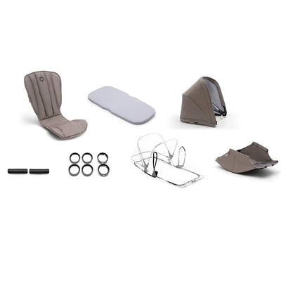 Bugaboo Bee5 Style Set - Mineral Taupe-Colour Packs- Natural Baby Shower