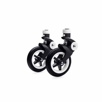 Bugaboo Bee5 Wheel Caps - White-Stroller Wheels- Natural Baby Shower