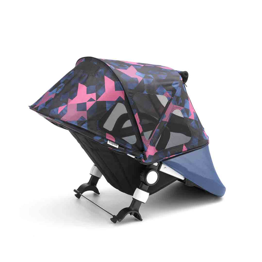 Bugaboo Fox/Cameleon3 Breezy Sun Canopy - Birds-Sun Covers- Natural Baby Shower