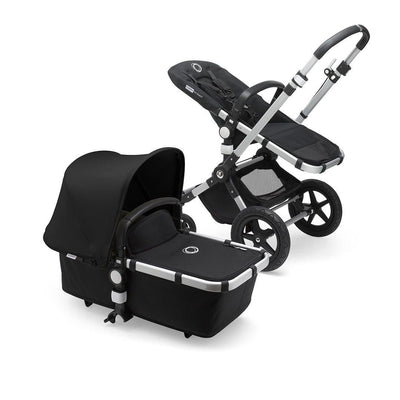 Bugaboo Cameleon3Plus Complete Pushchair - Aluminium + Black-Strollers- Natural Baby Shower