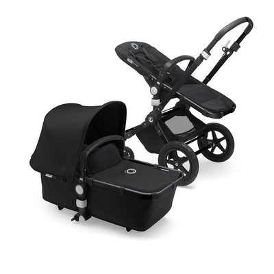 Bugaboo Cameleon3Plus Complete Pushchair - Black + Black-Strollers- Natural Baby Shower