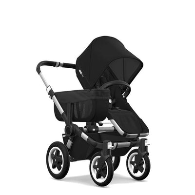 Bugaboo Donkey2 - Aluminium with Black-Strollers-Mono-Black- Natural Baby Shower