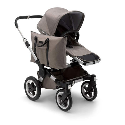 Bugaboo Donkey2 - Aluminium with Mineral Taupe-Strollers-Mono- Natural Baby Shower