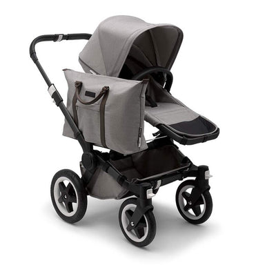 Bugaboo Donkey2 - Black with Mineral Light Grey-Strollers-Mono- Natural Baby Shower